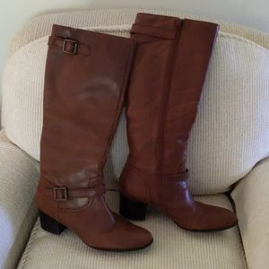 FRANCO SARTO Haylie Leather Knee - High boot